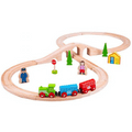 Bigjigs Figure of Eight Train Set,Bigjigs Wooden Train Set,Wooden train set,childrens wooden train set,toddlers train set,Bigjigs approved retailer
